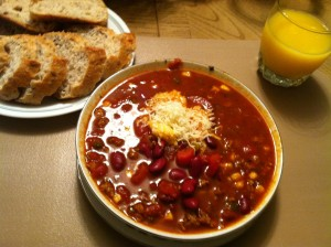 Simmering Bowls Of Chili Await Judges In Plymouth Cook Off