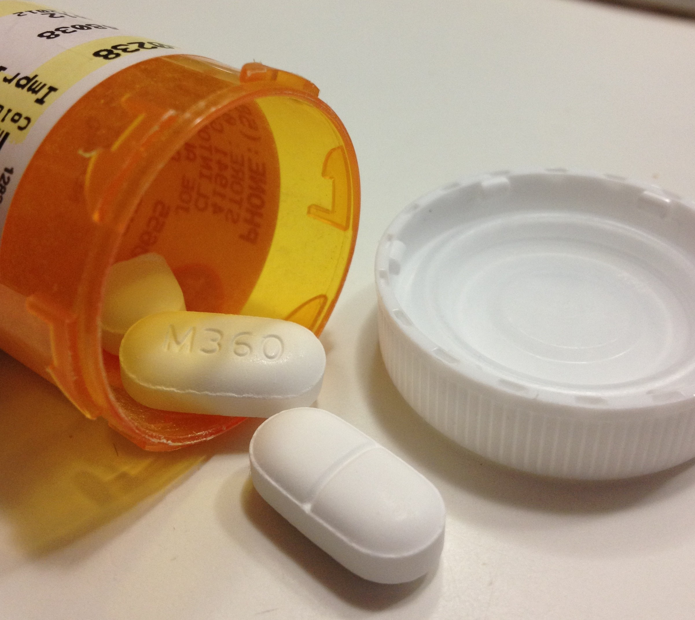 Vicodin, an opioid, is one of the prescription drugs that teenagers abuse. PHOTO/BRIANNA BUDNY