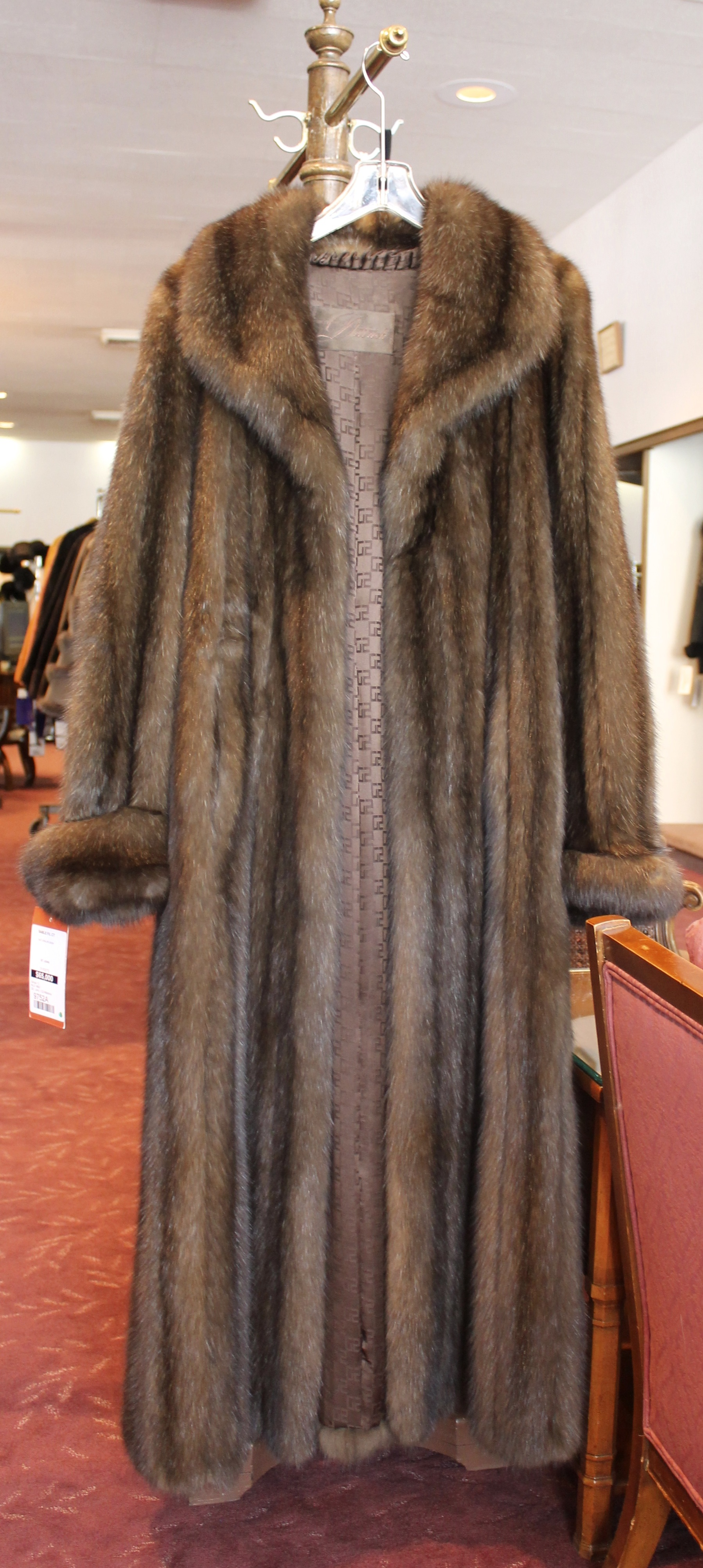 fischer fur costly coat pix ou news bureau
