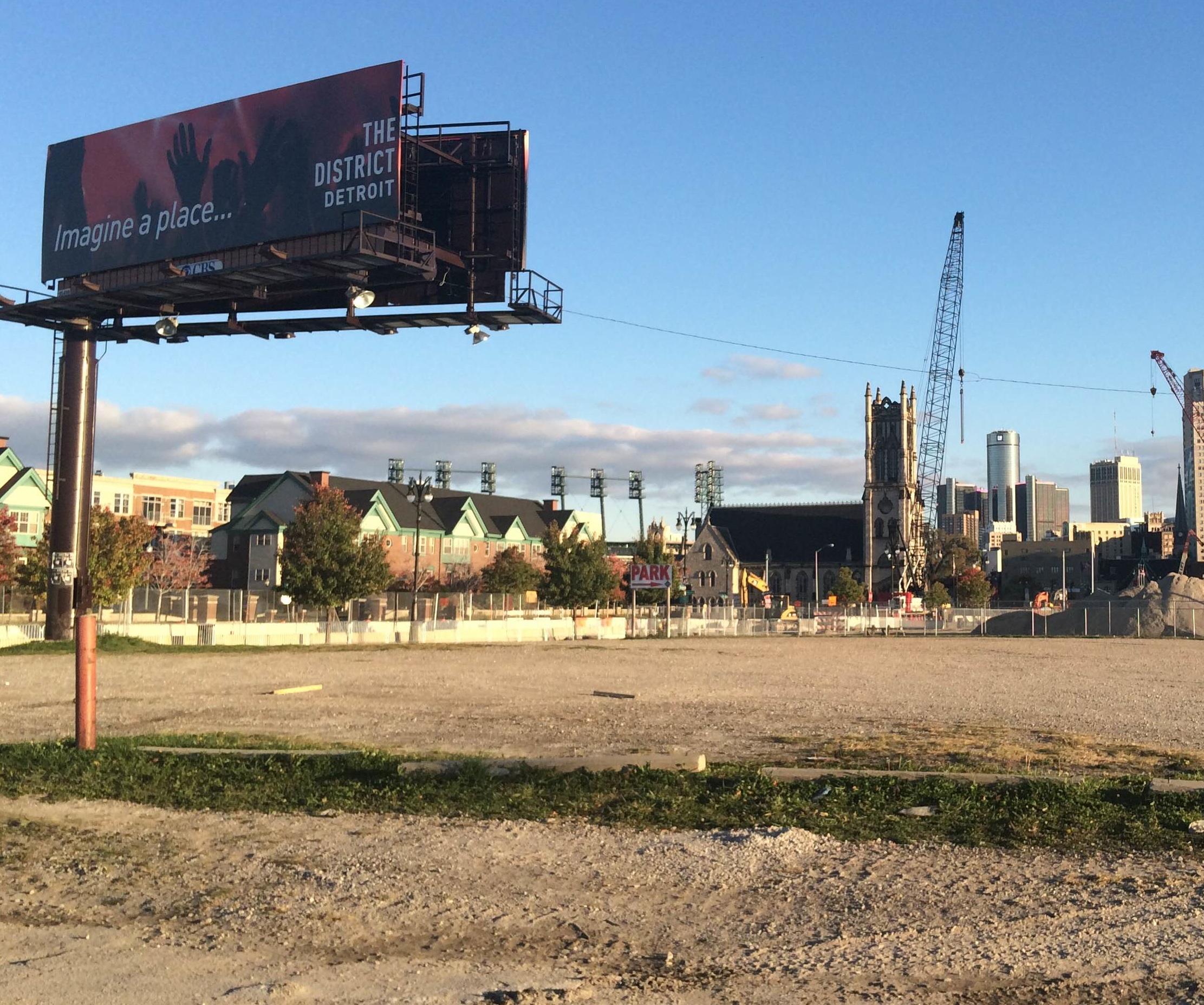 Arena Vision Lights: Ilitch Offers Vision Of Detroit's Future