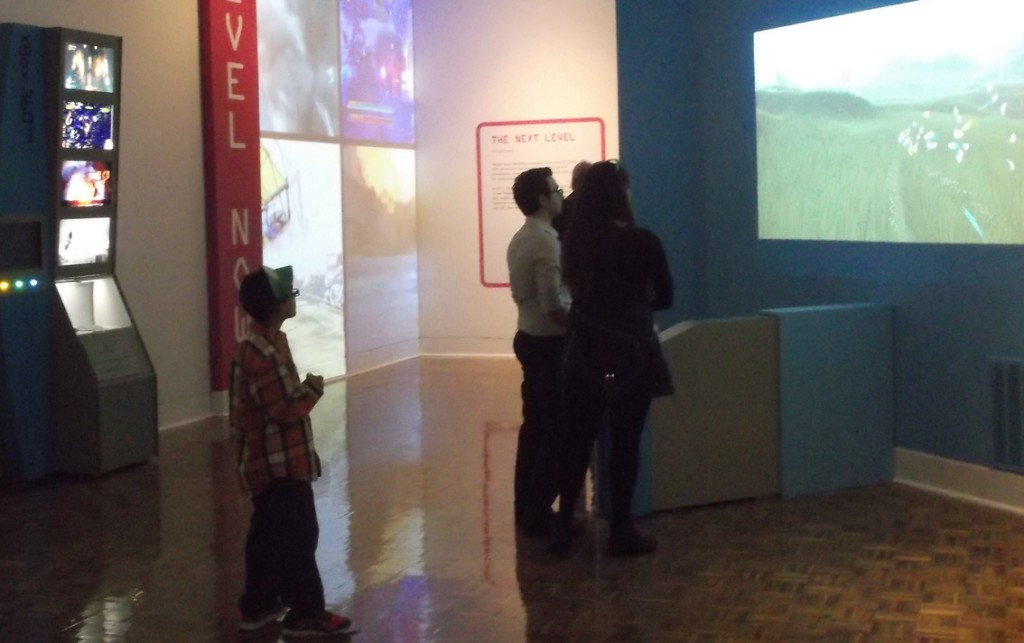 Visitors can play five games inside the exhibit at no extra cost. PHOTO/MATTHEW E. SEMRAU