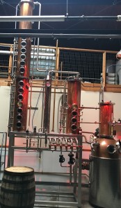 The Copper Still Has 13 Chambers For Creating Smooth, Flavorful Vodka.  PHOTO/ALEXIS