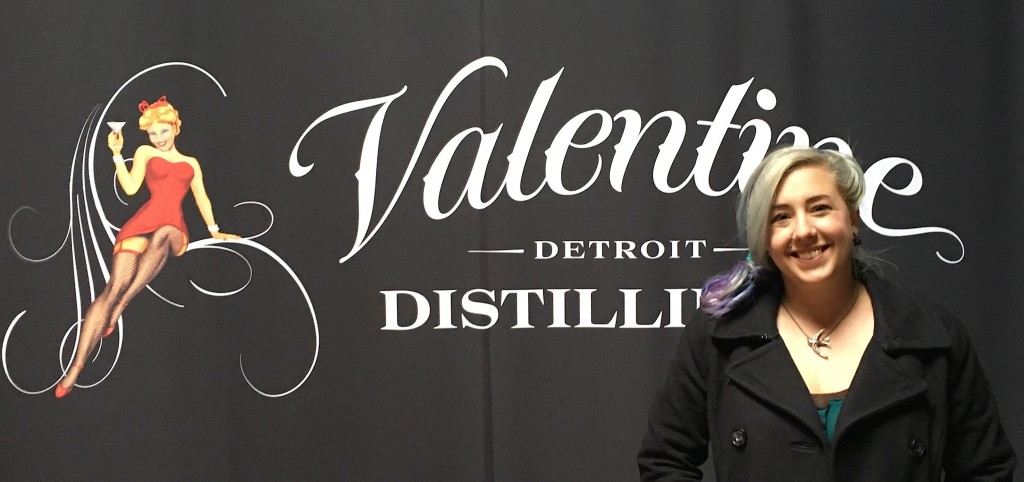 Heather DeLiso Is The General Manager Of Valentine Distilling Company.  PHOTO/ALEXIS APEL
