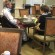 Rose residents enjoy lunch in the restaurant. PHOTO/MICHAEL KEENAN