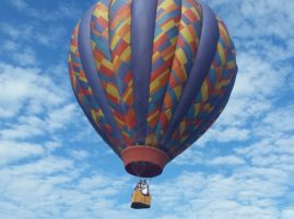 Hot air balloons are aircrafts and have to follow Federal Aviation Adminstration's rules. PHOTO/ALYCIA SEMRAU