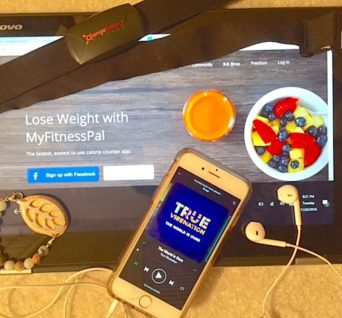 Exercisers can use headphones for music, websites such as Fitness Pal, the LEAF by Bellabeat to track distance or an Orangetheory heart rate monitor. PHOTO/KENDRA GILL
