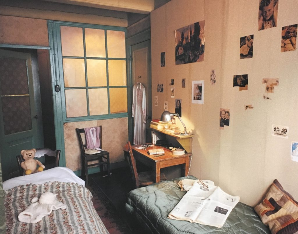 Holocaust center showcases life of anne frank ou news bureau - The year of the wonderful bedroom ...
