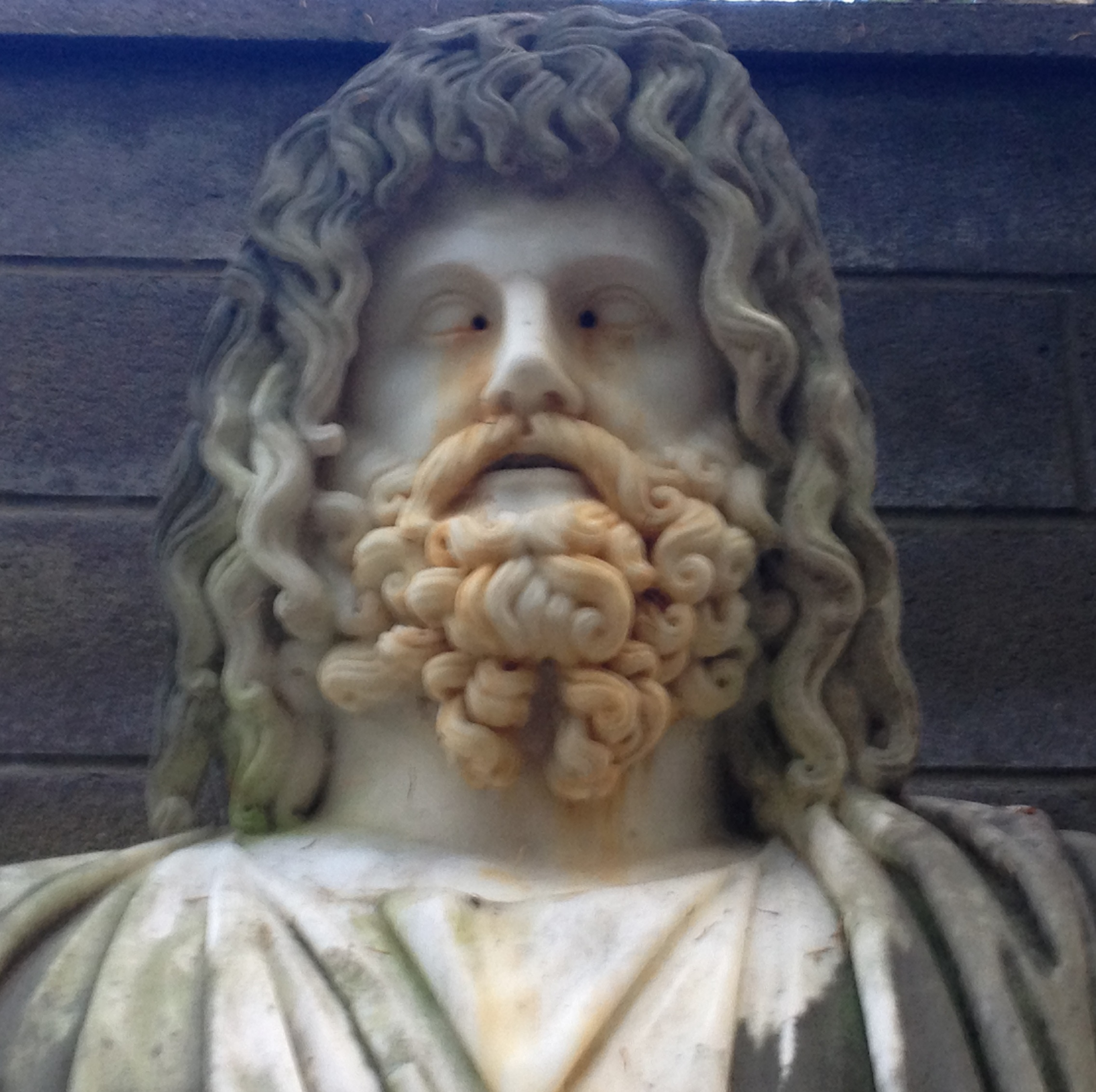 Marble Bust Of Zeus Hides Surprise Ou News Bureau